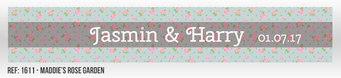 Maddie's Rose Garden Banner Design