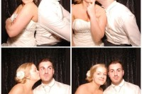 wedding photo booths dorset - taryn & matt