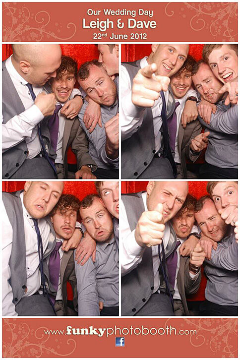 wedding photo booths hampshire by funky photo booth
