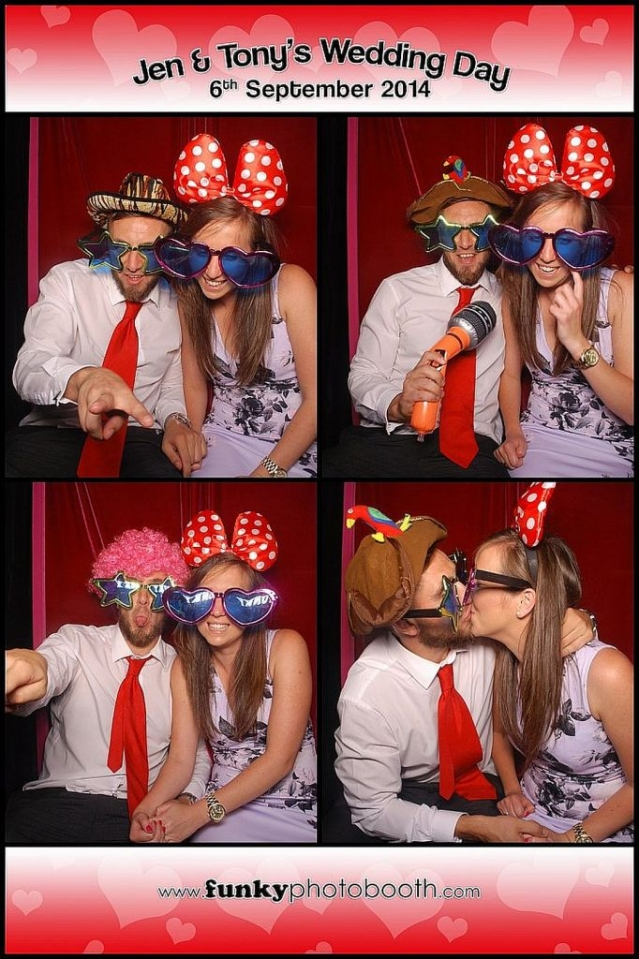 photo booth chichester: fastest hat changer in West Sussex