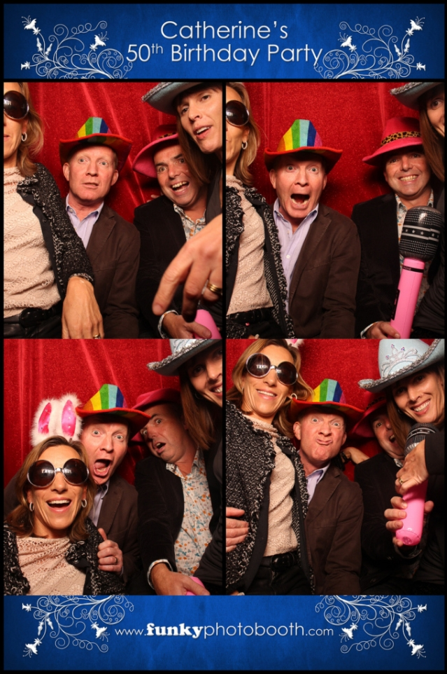 photo booth winchester: Getting funky with hats and glasses