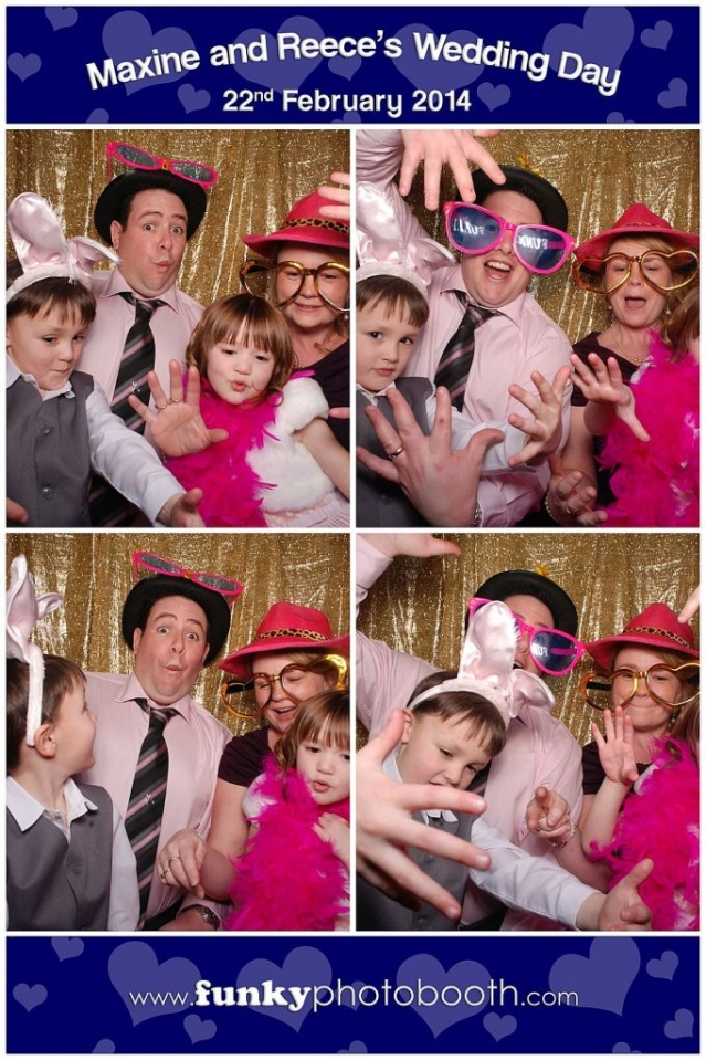 Photo Booth Hire Romsey: Funky Family