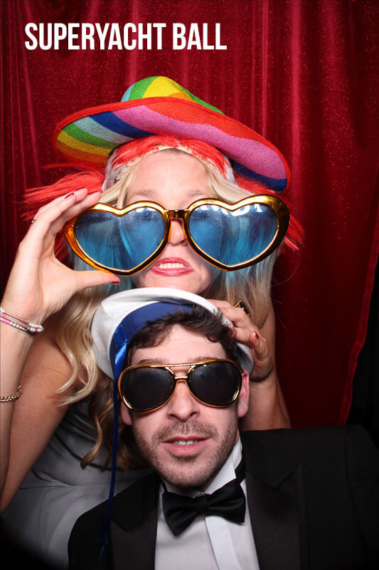 Charity Photo Booth for Superyacht Charities