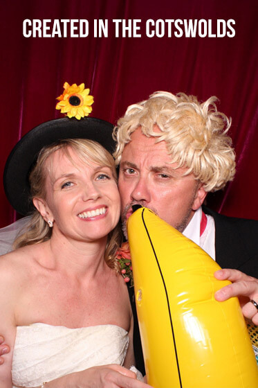 Cotswolds Photo Booth for Alex & Gareth