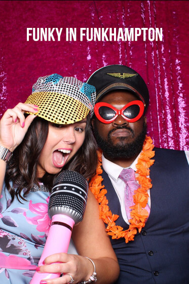 Southampton Photo Booth for Stacey & Ryan