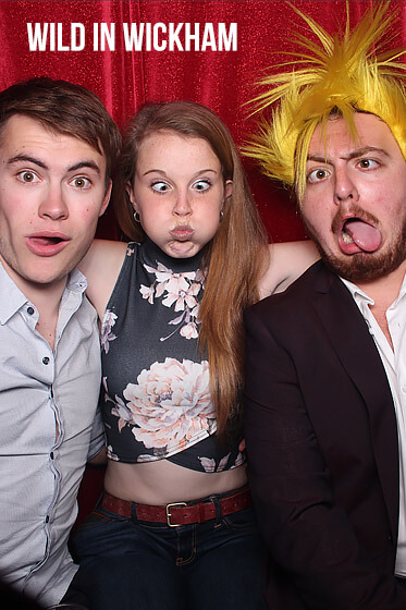 Marquee Photo Booth – Claudie's 18th Birthday