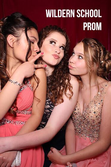Prom Photo Booth – Wildern School