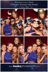 Prom Photo Booth for Wildern School