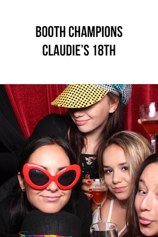 Booth Champions – Claudie's 18th