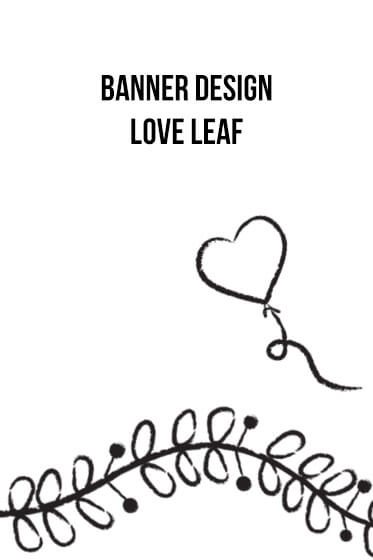 Banner Designs – Love Leaf