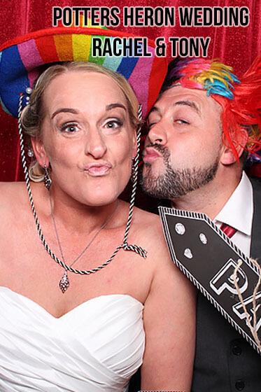 Potters Heron Wedding – Rachel and Tony