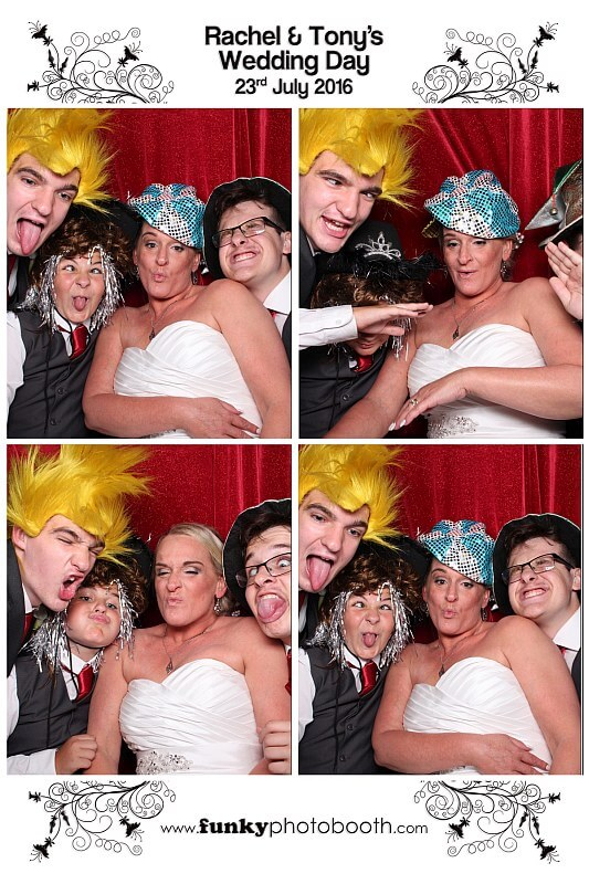 Funky Photo Booth at Potters Heron