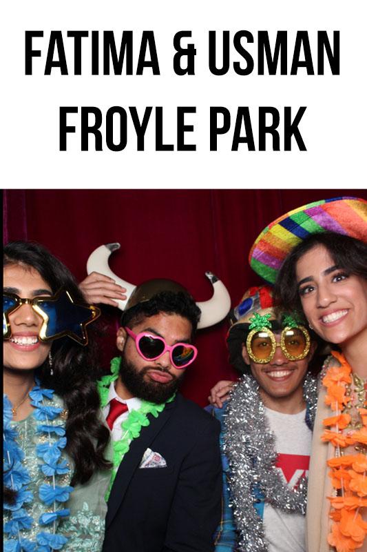 Froyle Park Wedding – Fatima & Usman